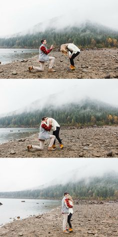 This marriage proposal in Seattle is so dreamy, and their story is the sweetest!