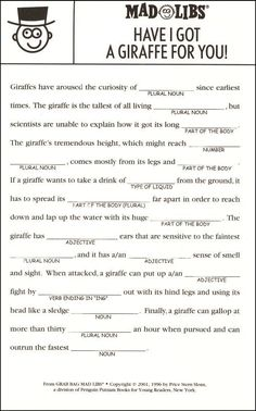 Grab Bag Mad Libs | Additional photo (inside page)
