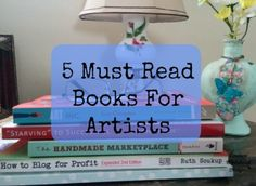 5 Must Read Books for Artists www.carmenwhitehead.com