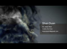 Shan Duan FX REEL 2012(rough)