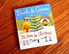 A simple, Christmas story and activity with Duck and Goose; one of my favorites