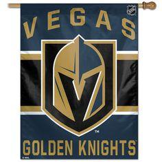 Vegas Golden Knights 27'' x 37'' Vertical Banner #lasvegas #goldenknights #nhl #hockey