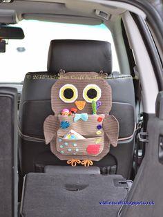 Owl Treasure Organiser | ViTalina Craft