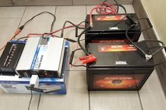 DIY Size & Build a Battery Power Backup Generator W/ Deep Cycle Batteries: 5 Steps (with Pictures) Motorhome, Battery Generator, Portable Generator, Walmart, Power Backup, Sump Pump, Solar Power System, Energy Storage, Solar Battery