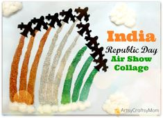 India Republic Day Air Show Collage Craft is part of India independence - India Republic Day Air Show Collage Craft This Republic Day, make your own special Air Show at home with this super easy paper collage craft! Independence Day Drawing, Independence Day Activities, 15 August Independence Day, Independence Day Decoration, Indian Independence Day, Independence Day Images, Craft Projects For Kids, Crafts For Kids To Make, Activities For Kids