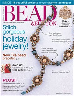 106 Bead & Button Magazine, 2011 December, #106 (Used) at Sova-Enterprises.com