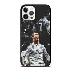 CRISTIANO RONALDO REAL MADRID iPhone 12 Pro Max Case Cover - Black / Plastic