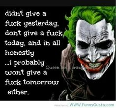 Honestest I won't give a fuck as long I exist Heath Ledger Joker Quotes, Best Joker Quotes, Joker Heath, Badass Quotes, Joker Pics, Joker Art, Dark Quotes, Strong Quotes, Movie Quotes