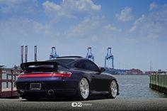 """Porsche 911 Carrera 4S - 20"""" D2FORGED FMS01 Wheels"""