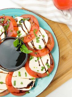 Tomato Mozzarella Salad - Tomatoes are so versatile and they're easy to use in a ton of recipes!