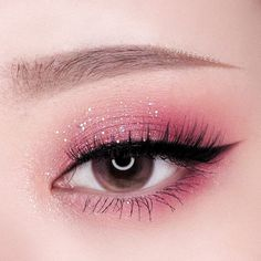 Eye Makeup Designs, Eye Makeup Art, Pink Makeup, Makeup Inspo, Eyeshadow Makeup, Makeup Ideas, Mac Makeup, Eyeshadow Palette, Dress Makeup