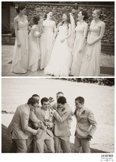 Liv Hefner Photography Wedding photography Fun Bridal Party