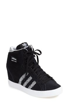 Free shipping and returns on adidas Hidden Wedge Sneaker (Women) at Nordstrom.com. A sueded shoe with a high hidden wedge takes basketball-inspired style to new heights.