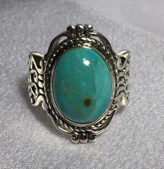Arizona Turquoise Men or Women Ring Size 9