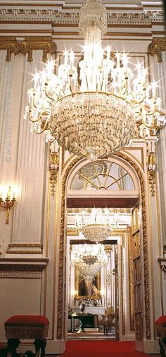 Buckingham Palace interior by Mulvany and Rogers
