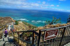 Diamond Head Hawaii Hiking | Hiking Trail in Diamond Head Oahu The Diamond Head State Monument ... I climbed this entire extinct volcano
