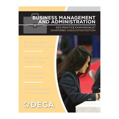 SALE Cluster Exam Booklets | DECA Images