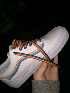 best website d76b7 671e1 Inject a vibrant new style into their summer wardrobe with the new Old  Skool Rainbow Skate Shoe from Vans! With just a splash of color, the Old  Skool ...