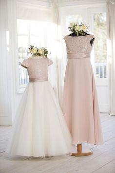 Flower Girl and Junior Bridesmaids Dresses | C694, T694 | True Bride