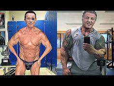 Arnold Schwarzenegger, Sylvester Stallone, Phil Heath, Ab Workout Men, Gym Workouts, Beast Mode, Predator Arnold, Aesthetics Bodybuilding, Muscle Up