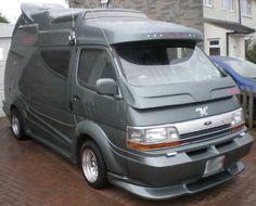 The Gray Warrior - a Japanese Street Cruiser-style campervan