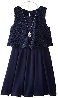 Amy Byer Big Girls' Chiffon Dress with Shimmer Popover, Navy, 14 Amy Byer http://www.amazon.com/dp/B0131DWGFE/ref=cm_sw_r_pi_dp_pO-Nwb17KR0B3