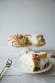 DOUGHNUT CAKE // THE