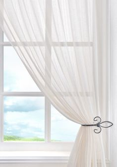 Voile Curtains allow natural light to come through without interruptions