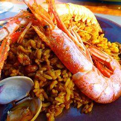 Paella. #paella #gastrospain # españa