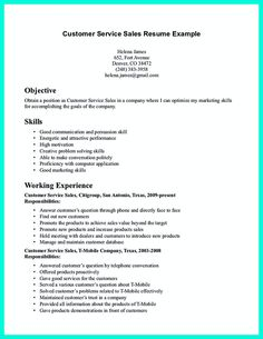 Skills And Abilities Resume Examples Customer Service Resume Professional  Resume Example  Pinterest .