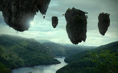 Floating islands by kokopelli1330, via Flickr
