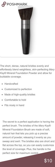Mineral Foundation Brush Expert professional make up brush.  Brand new, never used.  Detailed description in the photos.  I accept offers too through the offer feature. Thank you. Makeup Brushes & Tools