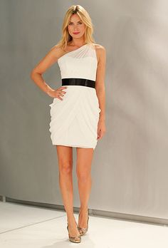 white bridesmaid dress Wtoo
