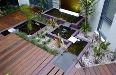 Great Modern water features designed by Designs. More after the jump Designs specialises in the custom design and production of quality water features. Pond Design, Landscape Design, Garden Design, Maze Design, Outdoor Garden Rooms, Outdoor Gardens, Outdoor Living, Modern Pond, Modern Gardens
