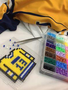 Hockey Jersey perler beads