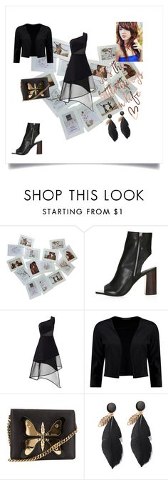 """""""wide eyes"""" by alexis-kitten on Polyvore featuring Topshop, David Koma and Gucci"""