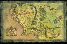 9 Best Middle Earth images   Lord of the rings, Map of middle earth ...