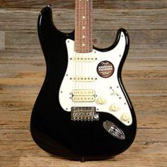 Fender American Standard Stratocaster HSS Black USED (s463)