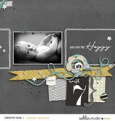 Scrapbook With Numbe