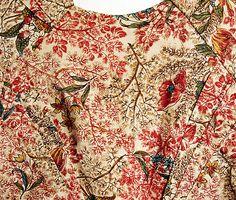 1795-1800 Cotton Dress