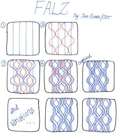 It has been a long time since I've created a new tangle and while playing around with my paper and pen the other night, I created two new t...