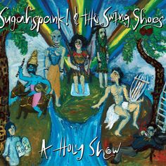 """The Greek swing band """"Swing Shoes"""" were initially a street guitar duo.Their current music has a lot of blues and gospel influences.Since they began a fruitful collaboration with Sughaspank!, a dynamic and soulful vocalist. #swingshoes #swing #blues #sugahspank"""