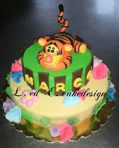 Cake design : tigro tigger disney