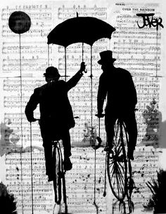 """B & W. Loui Joder-""""Under My Umbrella."""" I want to do this with a man and a woman"""