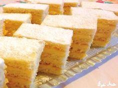Szalalkális krémes | Gazdagné Djinisinka Margit receptje - Cookpad receptek Cornbread, Cheesecake, Ethnic Recipes, Food, Cakes, Cooking, Millet Bread, Cake Makers, Cheesecakes