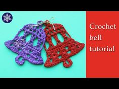 Crochet bell Christmas tree decoration EDITED, Show Your Crafts and DIY Projects. Crochet Christmas Decorations, Crochet Christmas Ornaments, Christmas Crochet Patterns, Holiday Crochet, Christmas Bells, Christmas Items, Crochet Gifts, Christmas Crafts, Christmas Angels