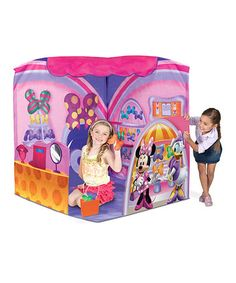 Take a look at this Minnie's Bow-tique Fashion Corner Tent by Minnie's Bow-Tique on #zulily today!