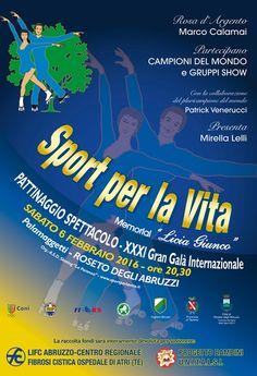 """Roseto. 31° edizione di """"Sport Per la Vita"""",Gran Galà tra campioni e solidarietà"""