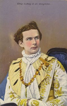 Ludwig II. als Georgiritter