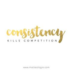 #ontheblog today, What Consistent People Do That Others Don't http://www.mattieologie.com